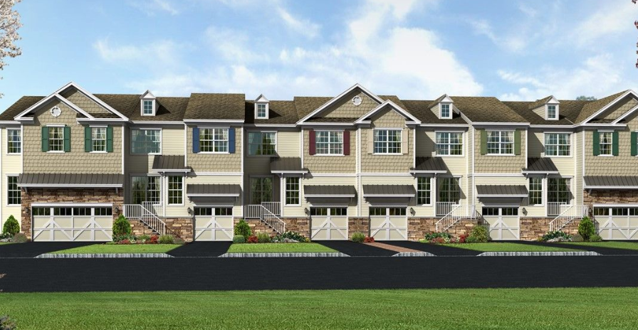 New construction the oaks at cranbury mclean terrace for New home construction in south jersey