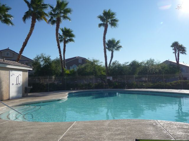 Gated Aliante Townhome with Community Pool