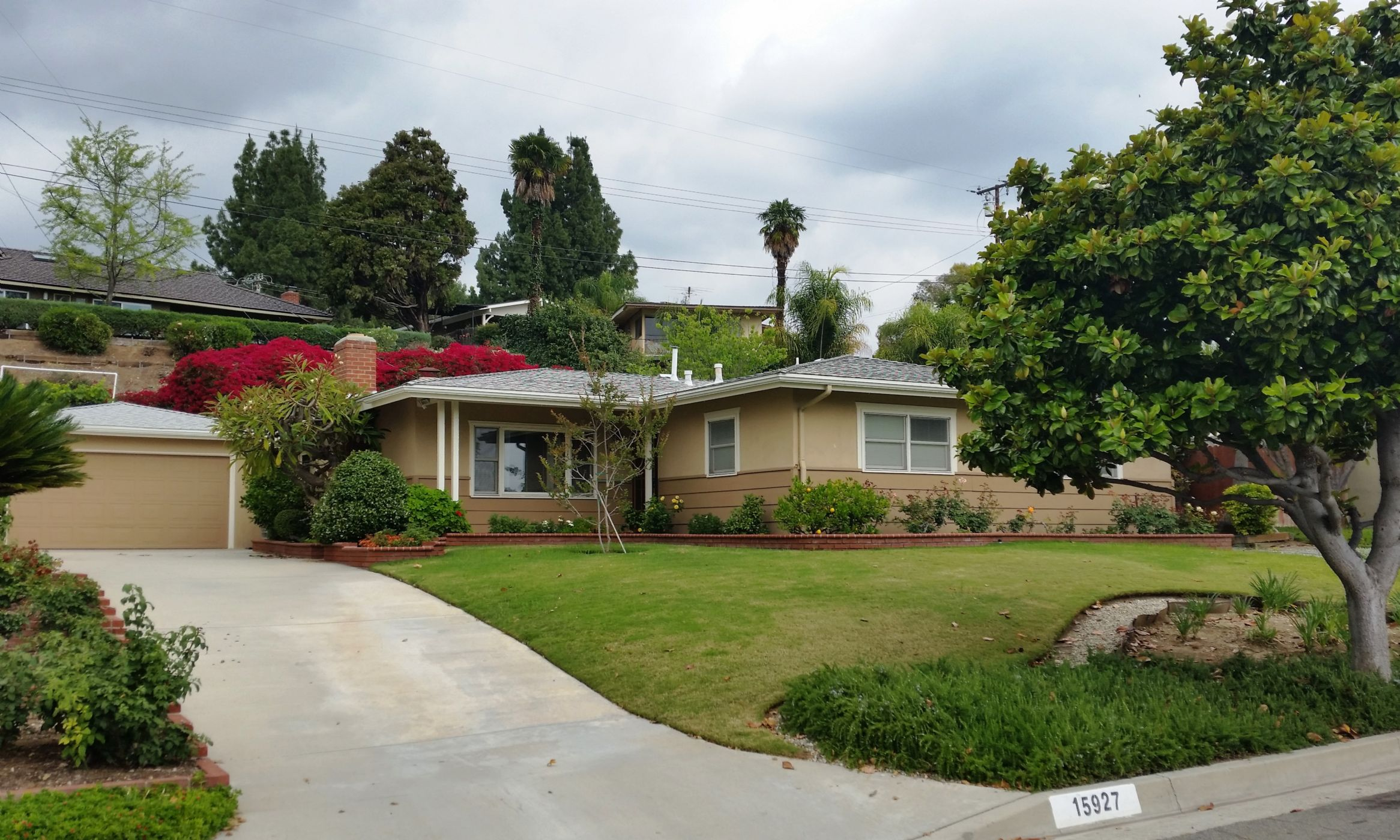 Whittier Home, CA Real Estate Listing
