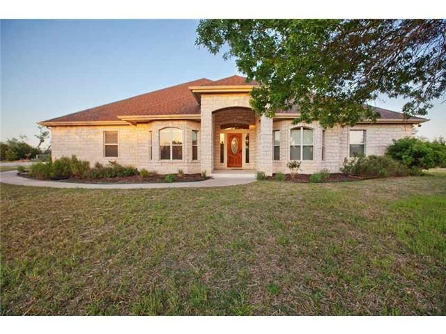 Liberty Hill Home, TX Real Estate Listing