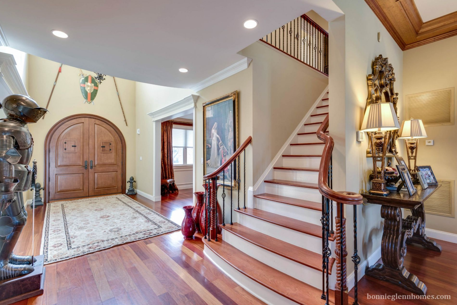 young custom built all brick home  great attention to detail  photos street view