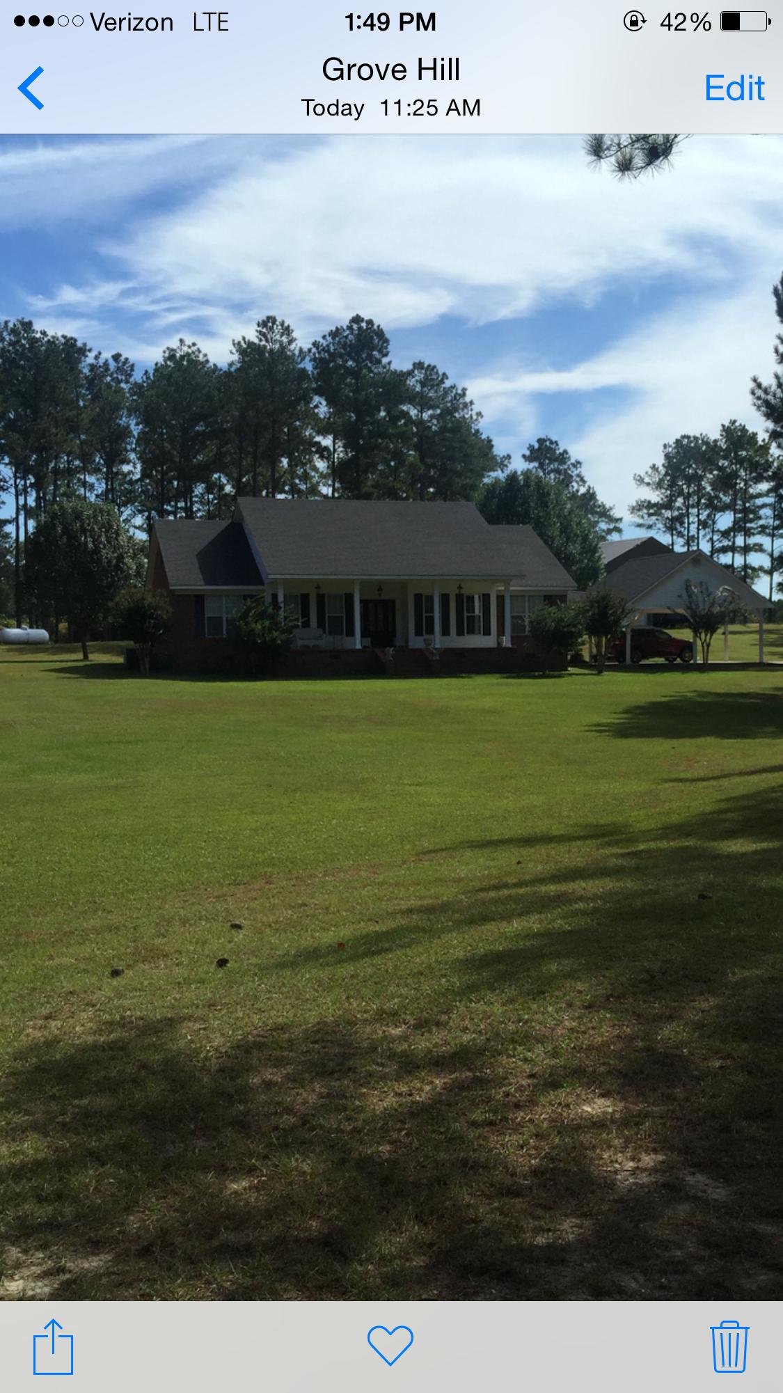 Grove Hill Home, AL Real Estate Listing
