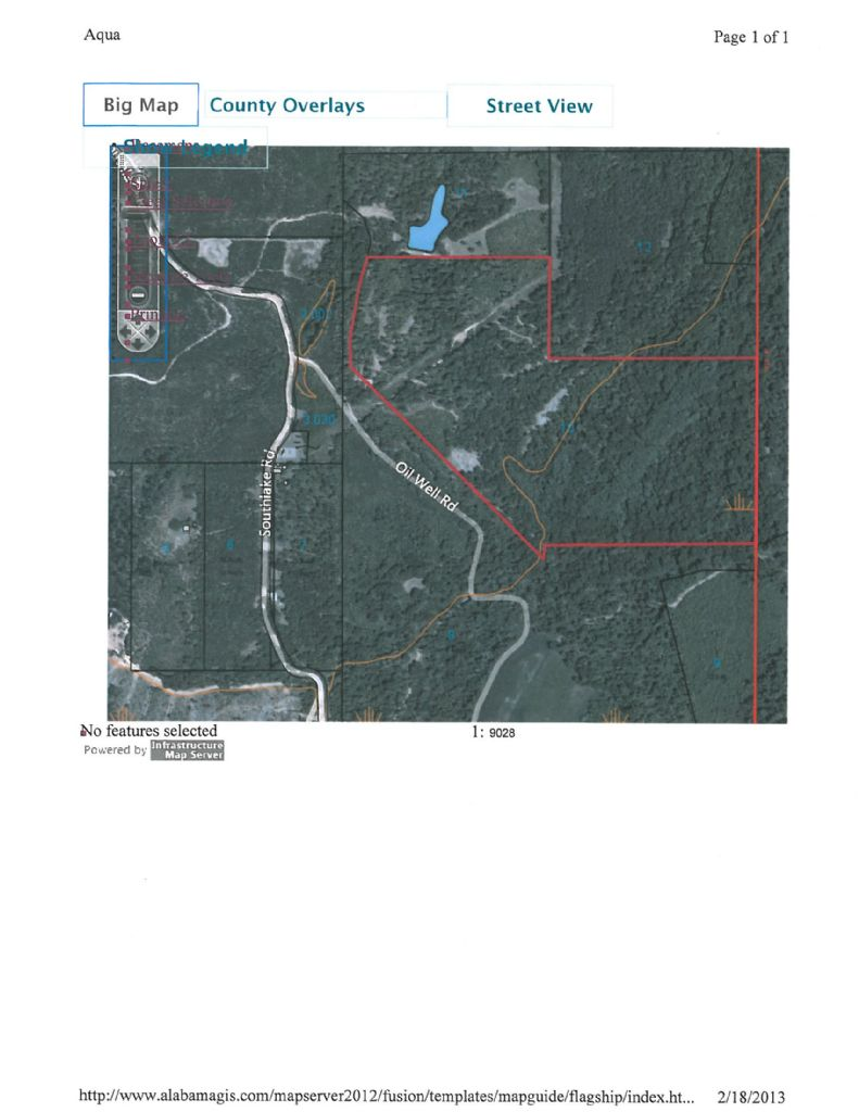 Alabama washington county wagarville - Lots Land Properties For Sale