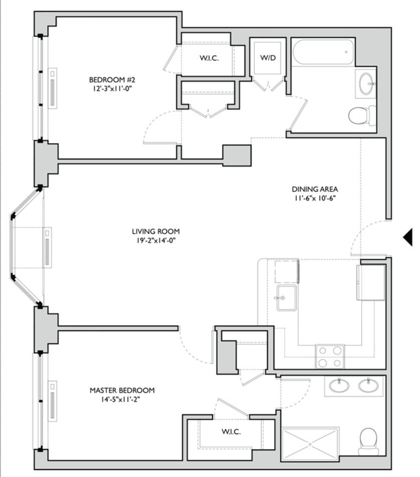 Hudson Tea Floor Plans Apartments In Stow Oh Hidden Lake