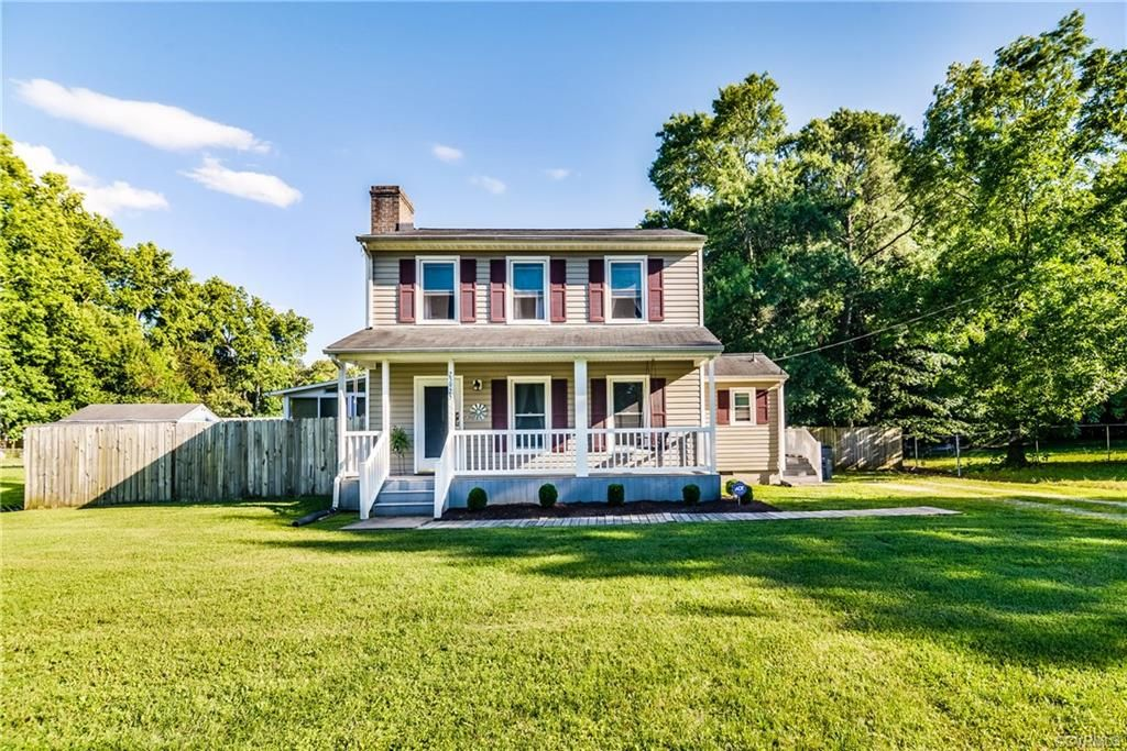 Dinwiddie Home, VA Real Estate Listing